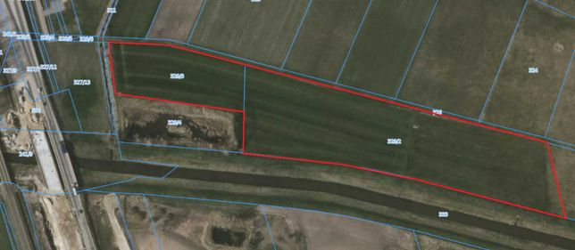 Grunty rolne pod farmę fotowoltaiczną z zasobami piasku żwiru-Korzeńsk
