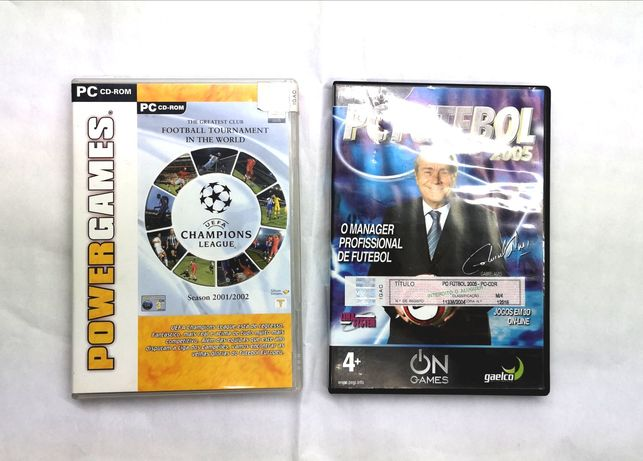 "Jogos p/ PC: ""PC Futebol 2005"" e ""Football Tournament in The World"""