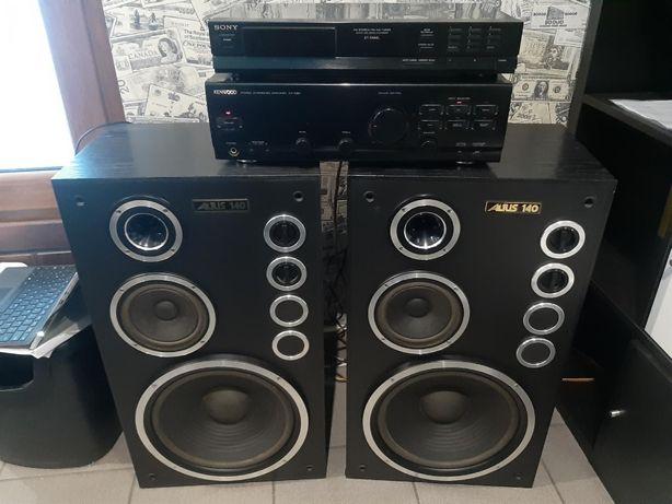 Kolumny Altus 140 + Amplituner Kenwood KA-1060 + Tuner Sony ST-S100L