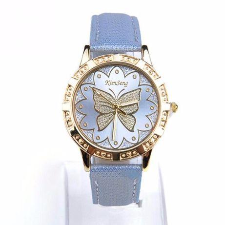 """Часы """"Голубая бабочка"""""""
