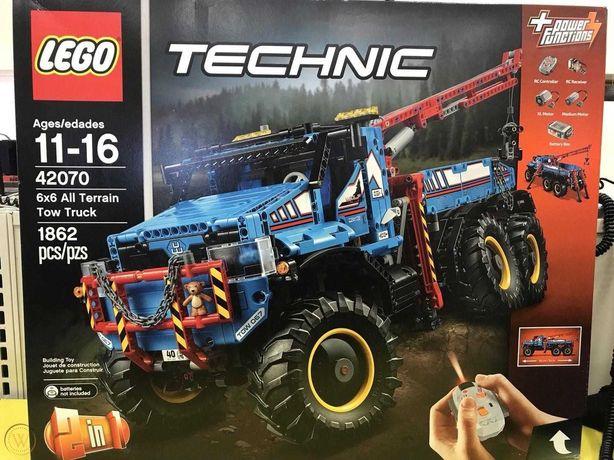 LEGO TECHNIC 42070 Holownik 6x6 - nowe, oryginalnie zapakowane