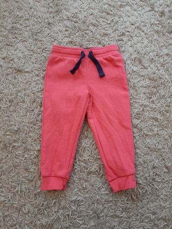 Spodnie dresowe dla dziewczynki rozmiar 86/92