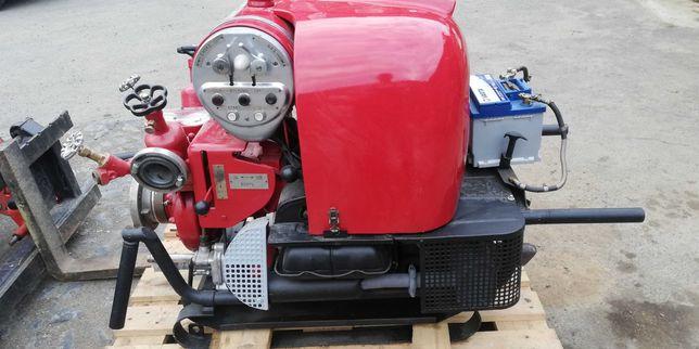 Motopompa strażacka Ziegler TS8/8 silnik VW, rozrusznik, węże