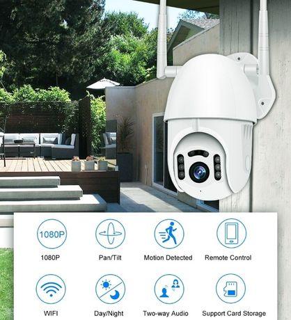 Câmera Vídeo Vigilância WIFI 1080P • Rotativa Exterior • IP66 • PTZ