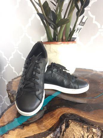 Кеды-кроссовки чёрные Адидас adidas!