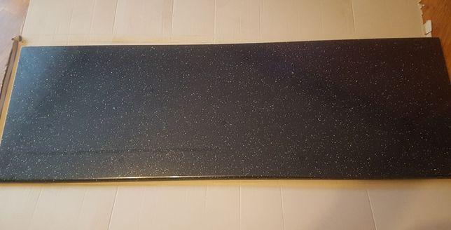 Blat kuchenny , czarna andromeda, polysk 180x60x2,8
