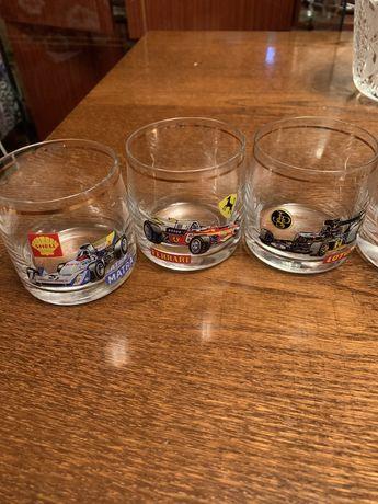 Набор стаканчиков с машинками