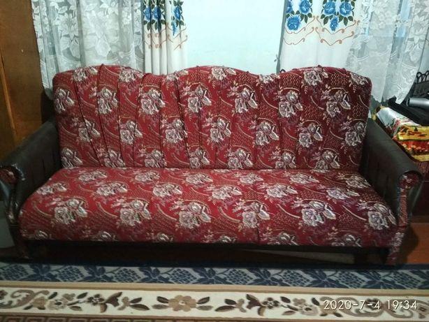 Продам раскладной диван (самовывоз с. Поповка, Миргородский р-н)