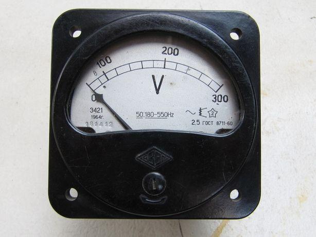 Вольтметр, головка измерительная Э421,