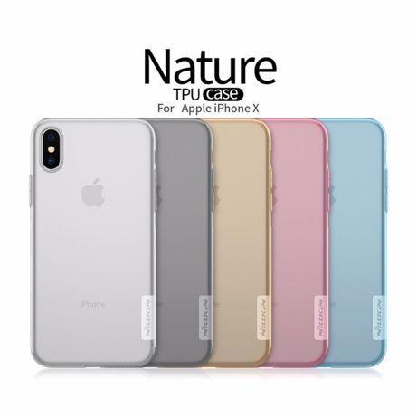 Чехол Nillkin Nature силиконовый iPhone 6/6s/7/7+/8/8plus. X/Xr/Xs max