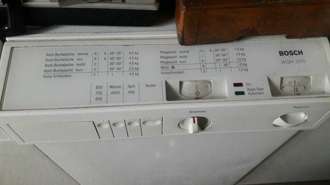 Запчасти для стиральной машины BOSCH (Siemens)