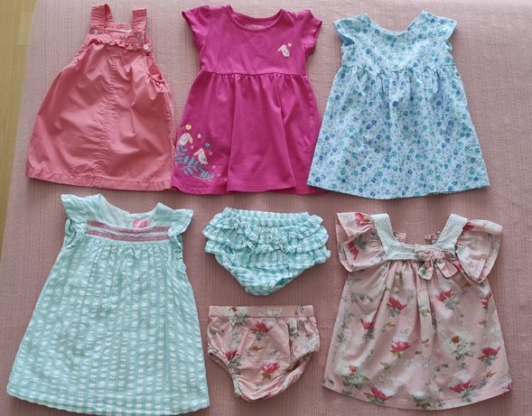 Lote de roupa de bebé menina (18-24 meses) - 16 peças