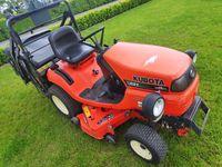 Kosiarka traktorek Kubota G21 wysoki wysyp Diesel F-vat