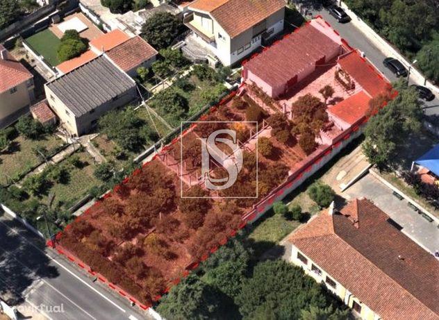 Terreno urbano de 1000 m2 em Albarraque