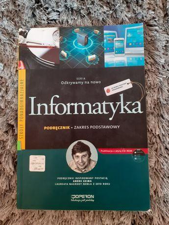 Podręcznik Informatyka zakres podstawowy