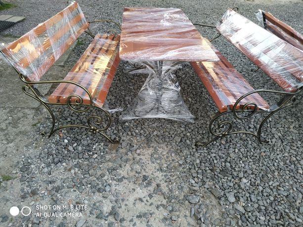 Лавка Скамейка Ковка стіл стол
