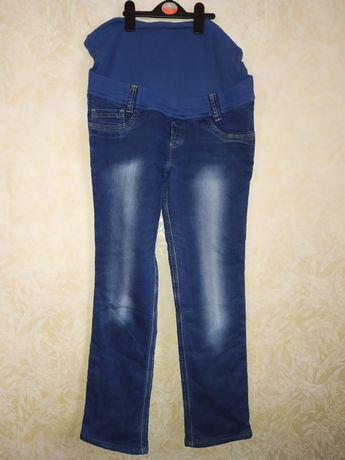 Теплые джинсы штаны для беременных