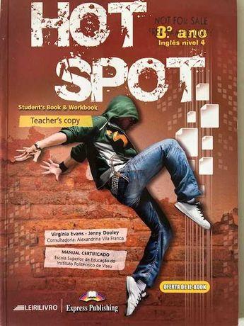 Hot Spot 8, Inglês nível 4, 8ºano - Pack do professor
