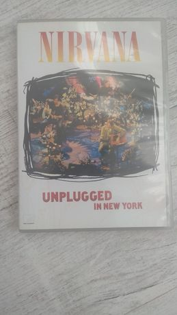 "Nirvana DVD "" Unplugged in New York"" DTS ;) tania wysyłka;)"