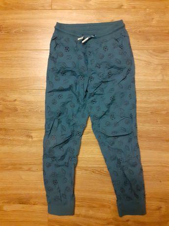 Spodnie materiałowe r. 134 cool club stan bdb
