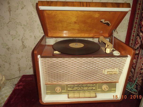 Радиола Минск 61 Ссср, грамофон и радиоприёмник