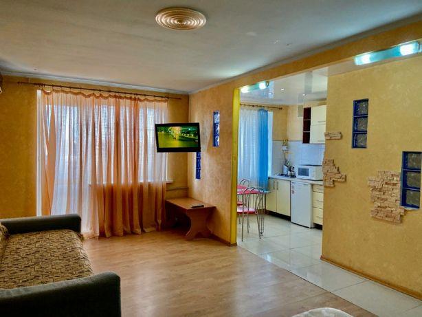 Квартира посуточно Коцюбинского р-н Медиана кондиционер wi-fi