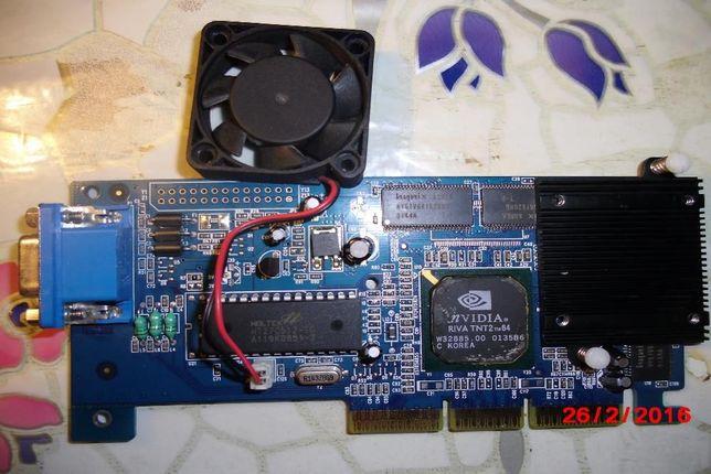 Легендарная видеокарта nVidia Riva TNT2 M64