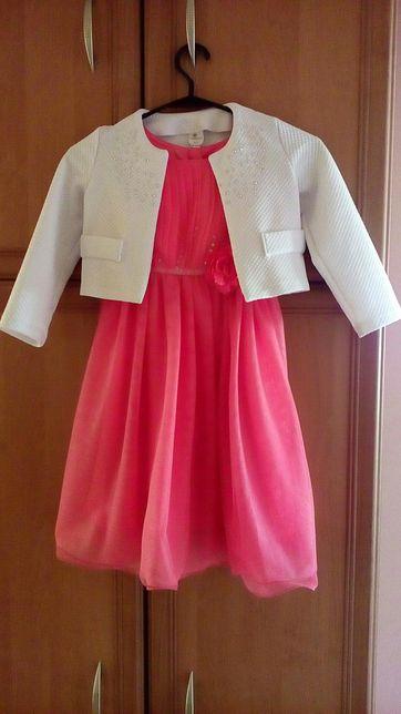 Sukienka z bolerkiem roz. 116