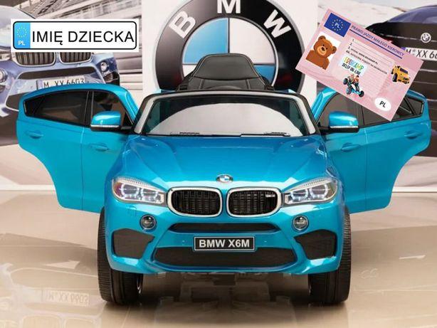 Auto Na Akumulator BMW X6M lakierowany wersja VIP!