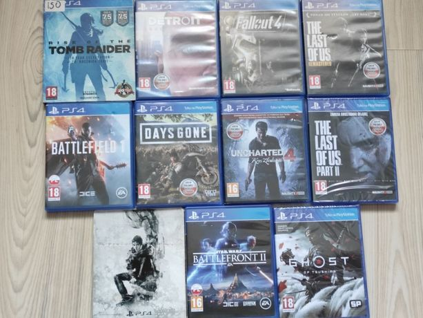 Nowe Gry PS The Last of Us Part II, Ghost of Tsushima i in. w pakiecie
