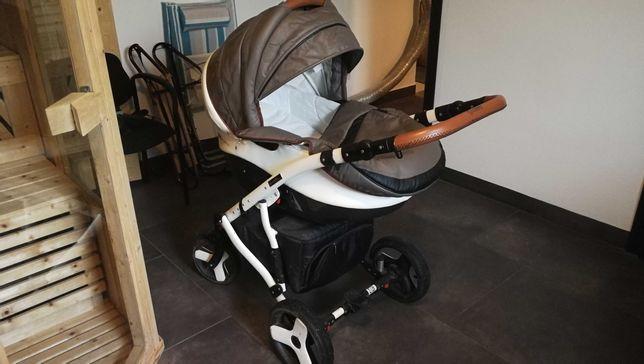 wózek dziecięcy 2w1 Coletto Florino Carbon