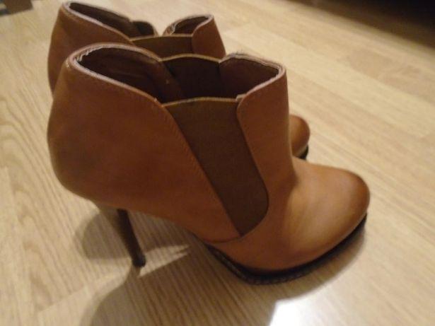 Buty botki roz 37 idealne na jesień
