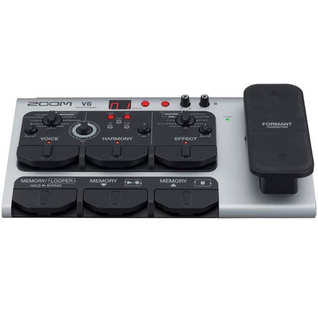 Zoom V6 Vocal Processor Процессор эффектов для вокала