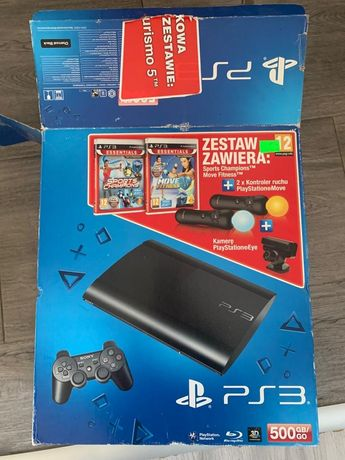 Konsola PS3 zestaw