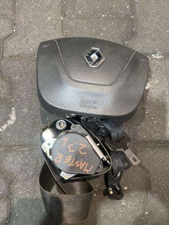 Master 2.3 dci airbag kierowcy Pas bezpieczeństwa komplet