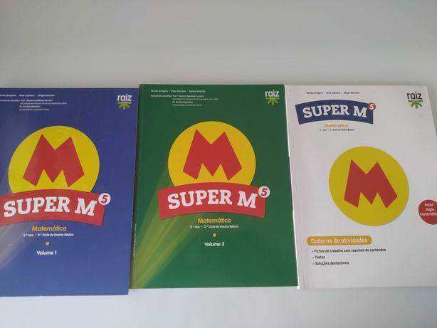 Livros Matemática Super M - 5º Ano
