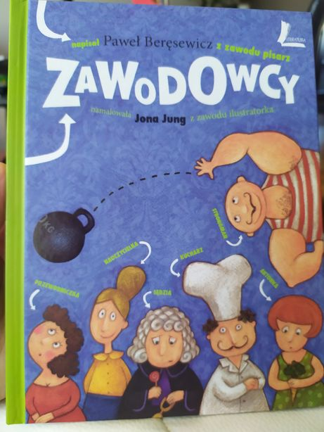 Zawodowcy, Paweł Beręsewicz, książka o zawodach dla dzieci