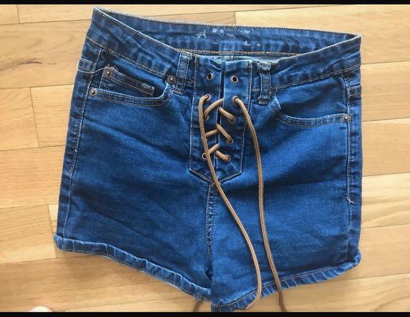 Spodenki jeansowe dziewczece xxs tania wysylka olx