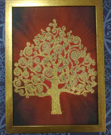 Картина бисером Дерево изобилия