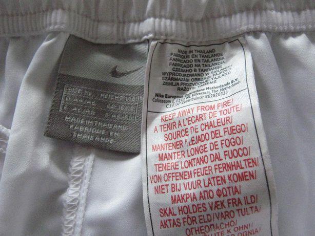 Spodnie sportowe NIKE XL, 178, białe, damskie-na lato