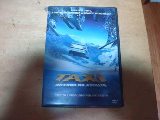 DVD original taxi 3 inferno no asfalto
