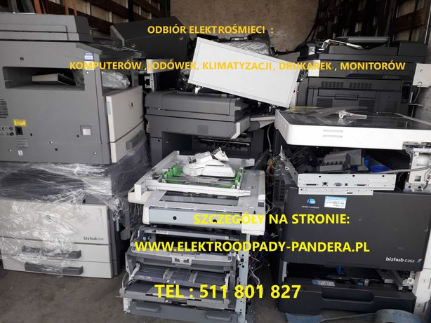 Utylizacja recykling dużego AGD lodówek, pralek, kuchenek , zmywarek