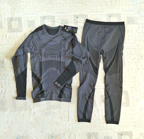 Термобелье мужское функциональное спортивное комплект