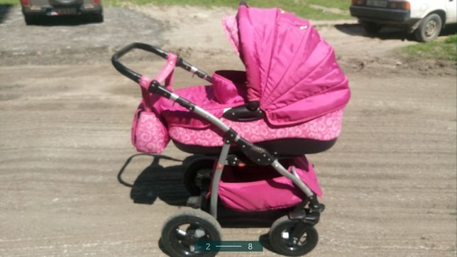 Продам дитячу коляску 2в1 Tako Princess