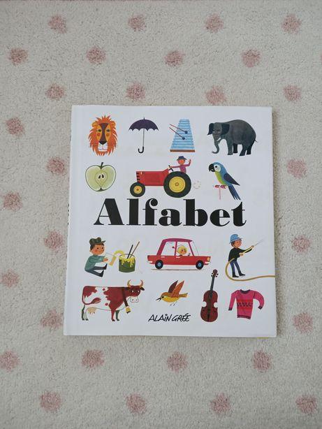 Książka Alfabet. Autor Alain Gree. Wydawnictwo Olesiejuk