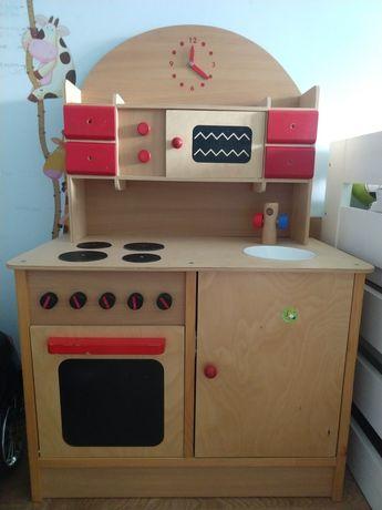 Kuchnia do zabawy dziecięca drewniana