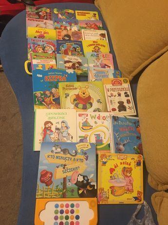 Książki kartonowe dla dzieci 24 sztuki