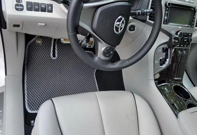 EVA коврики Lada Ваз 2110 2109 21099 приора + подпятник в ПОДАРОК!
