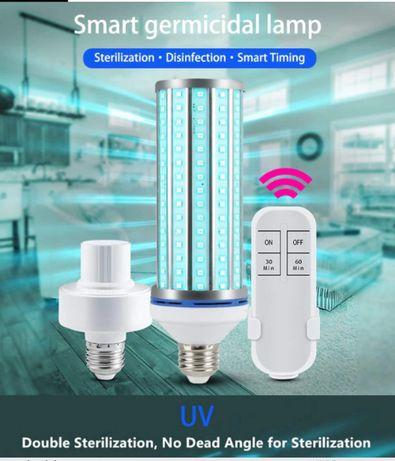 Лампа UV-C 220V E27 254nm 60W Ультрафиолетовая Бактерицидная