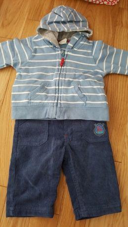 Komplet, spodnie i bluza